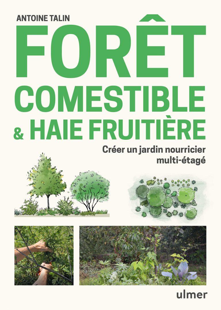 couverture livre forêt comestible
