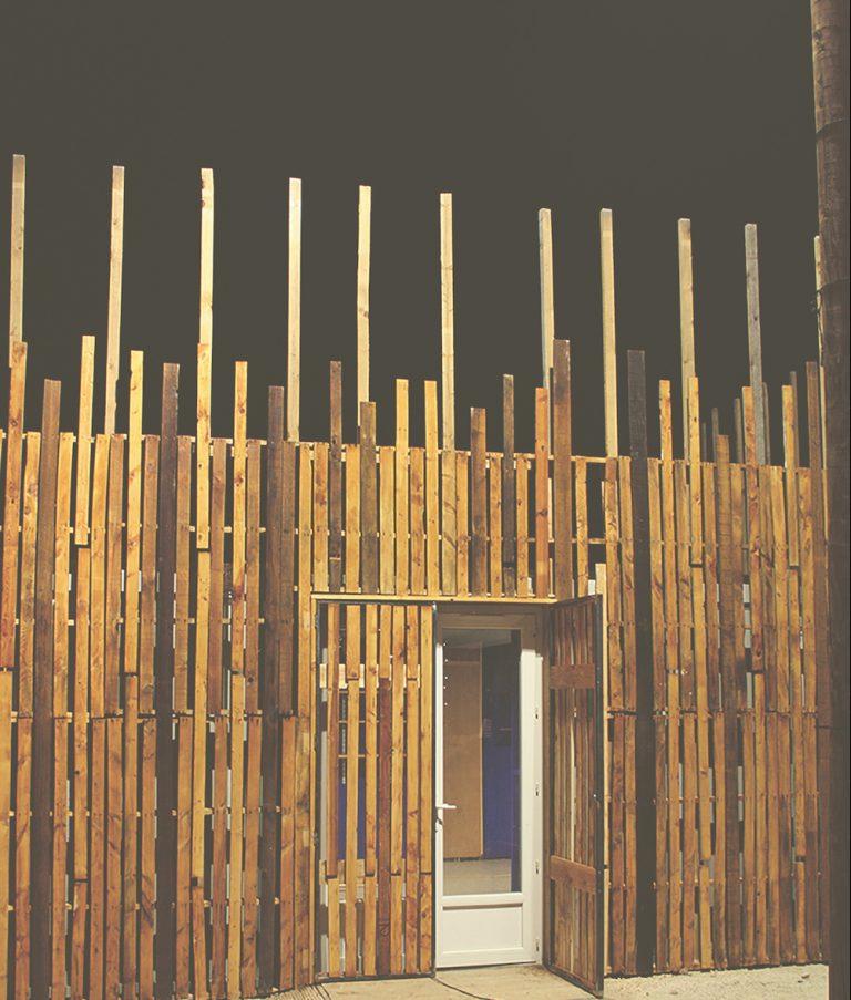 bardage bois atelier moins mais mieux autoconstruire en réemploi